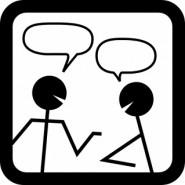 Stick Men Conversation Networking