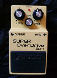 Boss Overdrive Pedal