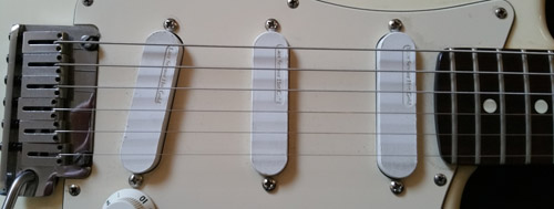 Stratocaster Pickups Close Up